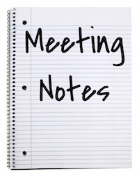 Meeting Notes: Charge Conference | From Behind the Pulpit