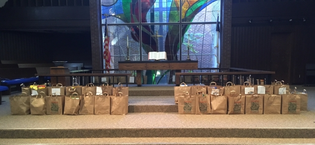 Food Pantry Sacks 2018